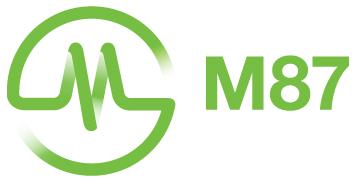 M87-Green-Logo-Type