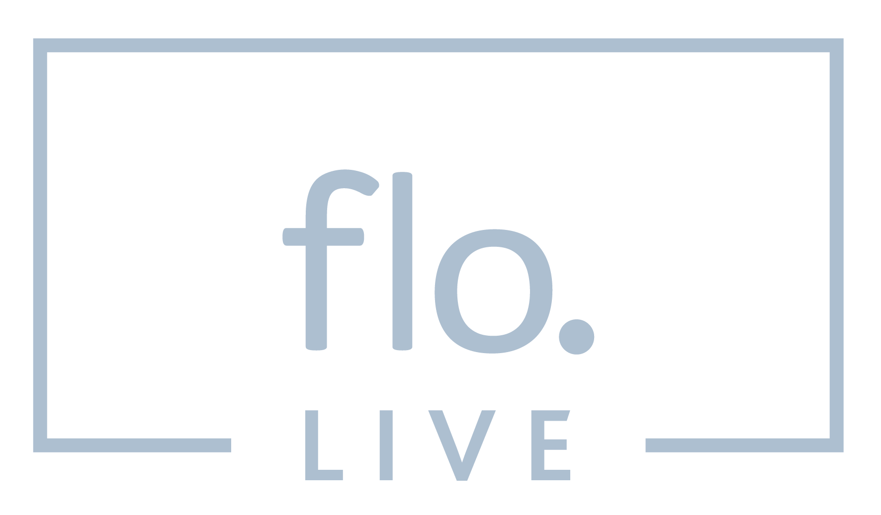 floLIVE Logo Grey
